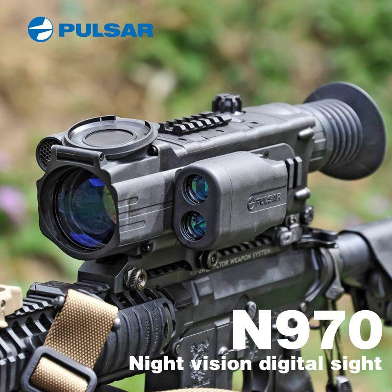 PULSAR N970 Digitale nachtsicht zielfernrohr nacht anblick nachtsicht umfang nacht zielfernrohr jagd waren infrarot Im Bereich