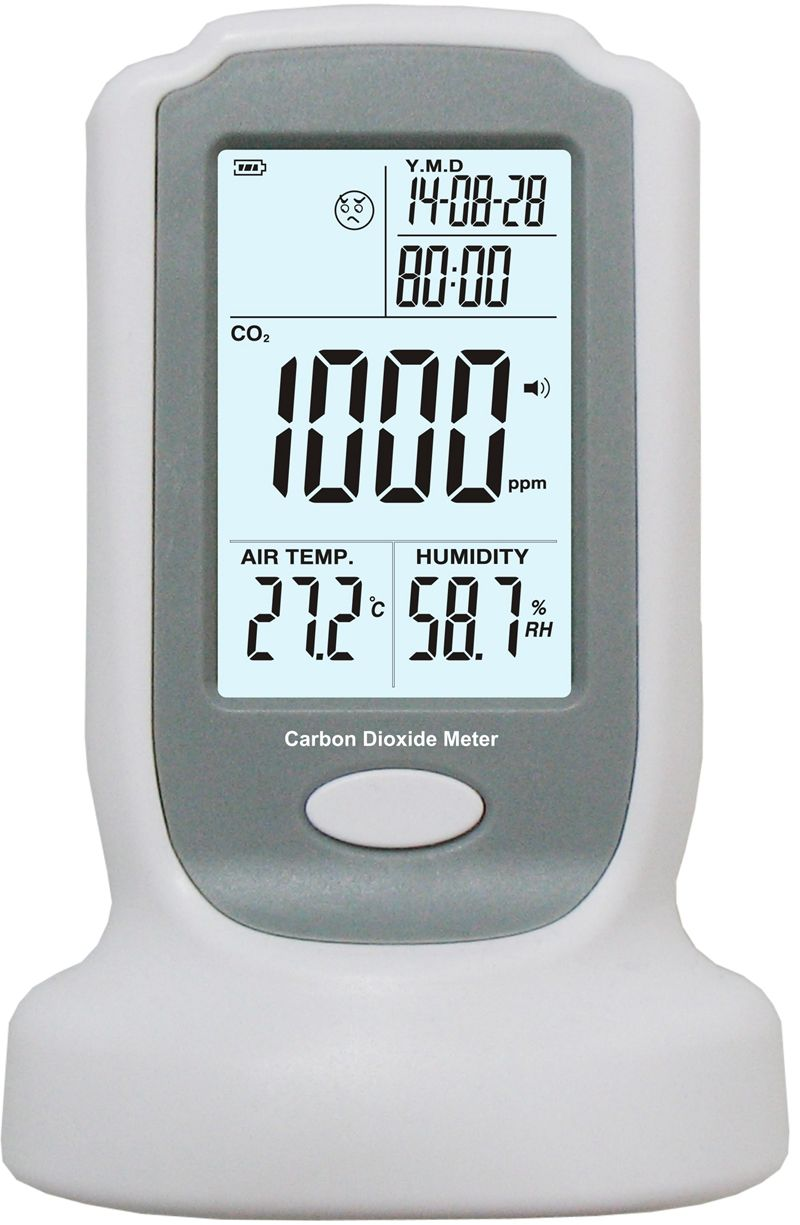 Industrial Portable Carbon Dioxide Detector 0-2000ppm Brand Precise Continuous Online CO2 Detection Tester NDIR CO2 Gas Sensor