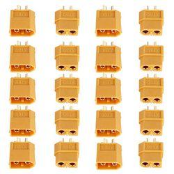 XT60 XT-60 Male Female Bullet Connectors Plugs For RC Lipo Battery 10/20PCS (5Pairs/10pairs) Wholesale