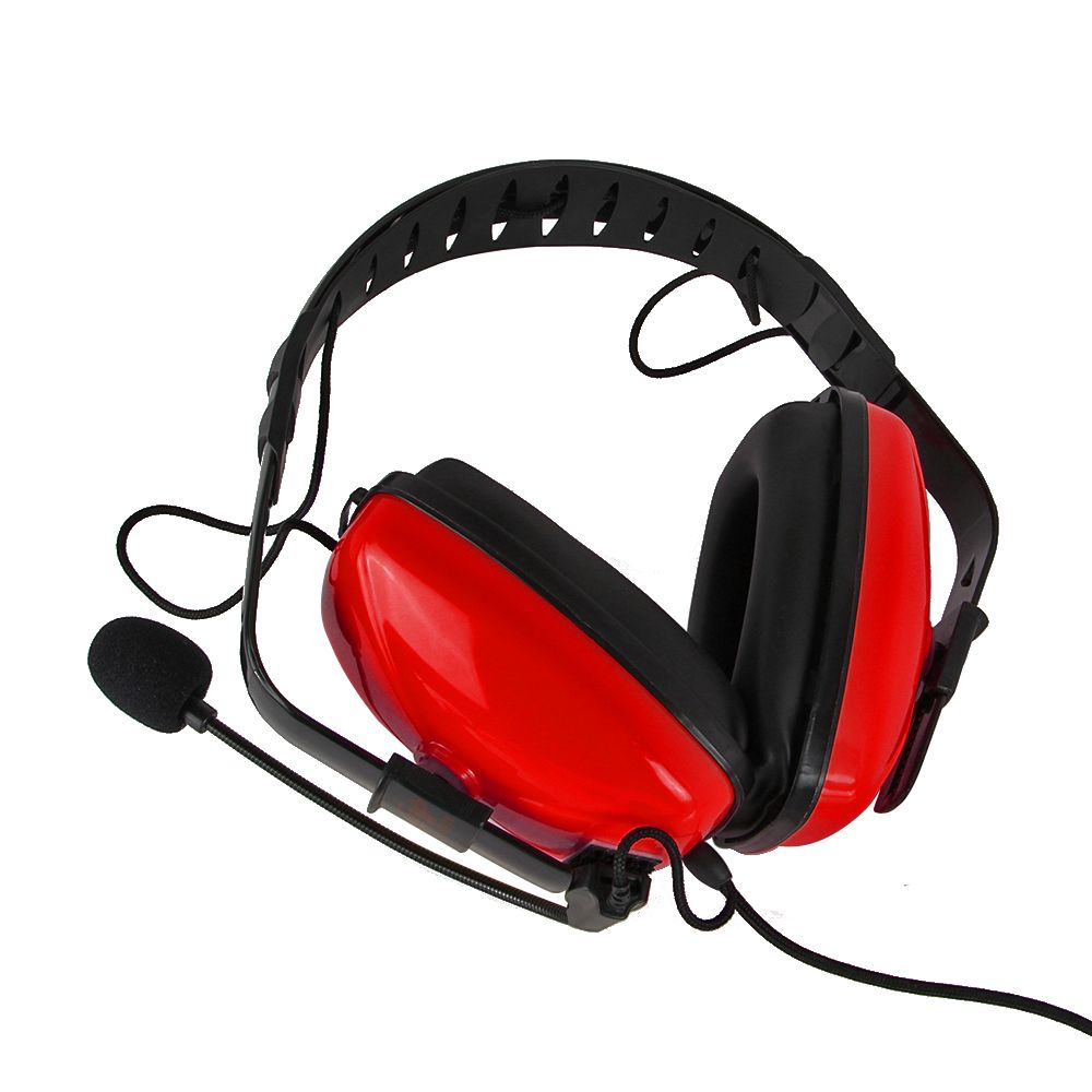 For Baofeng Quansheng Noise Reduction Aviation Headset TD16-R-K1 HYT/TYT/WOUXUN/Puxing Two Way Radio uv5r uv82 bf-888s md380