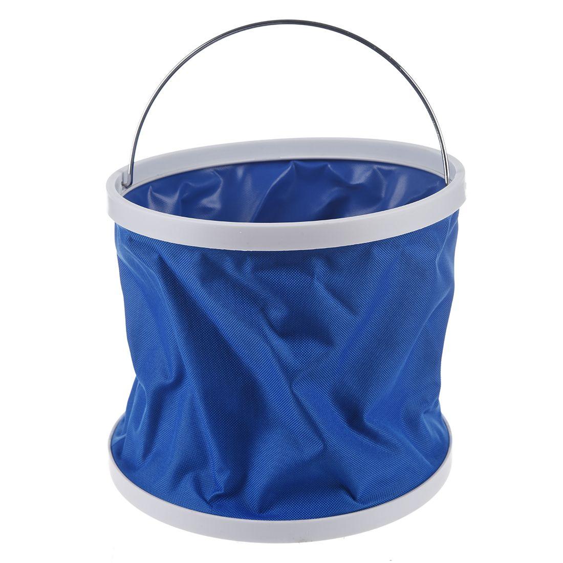CGDS Outdoor Folding Fishing Camping Car Washing Hiking Water Bucket Barrel 9L