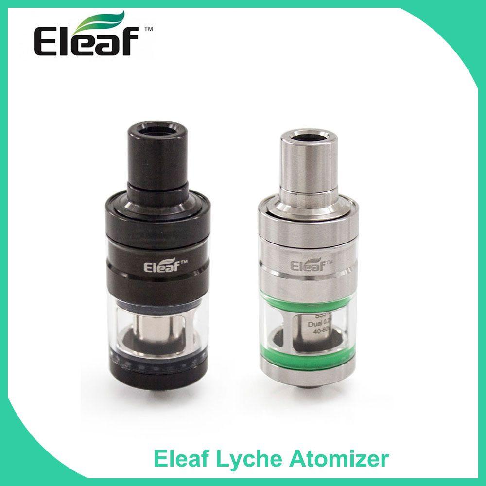 Special Price 100% Original Eleaf LYCHE Atomizer with Dual&NC Head 0.25ohm Head Bottom Side Filling Vape Tank Elektronik Sigara