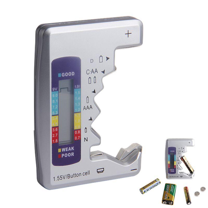Numérique Batterie Tester Checker Batterie Capacité Testeur Pour C/D/9 v/AA/AAA/1.5 v Batterie Au Lithium Alimentation Instrument De Mesure