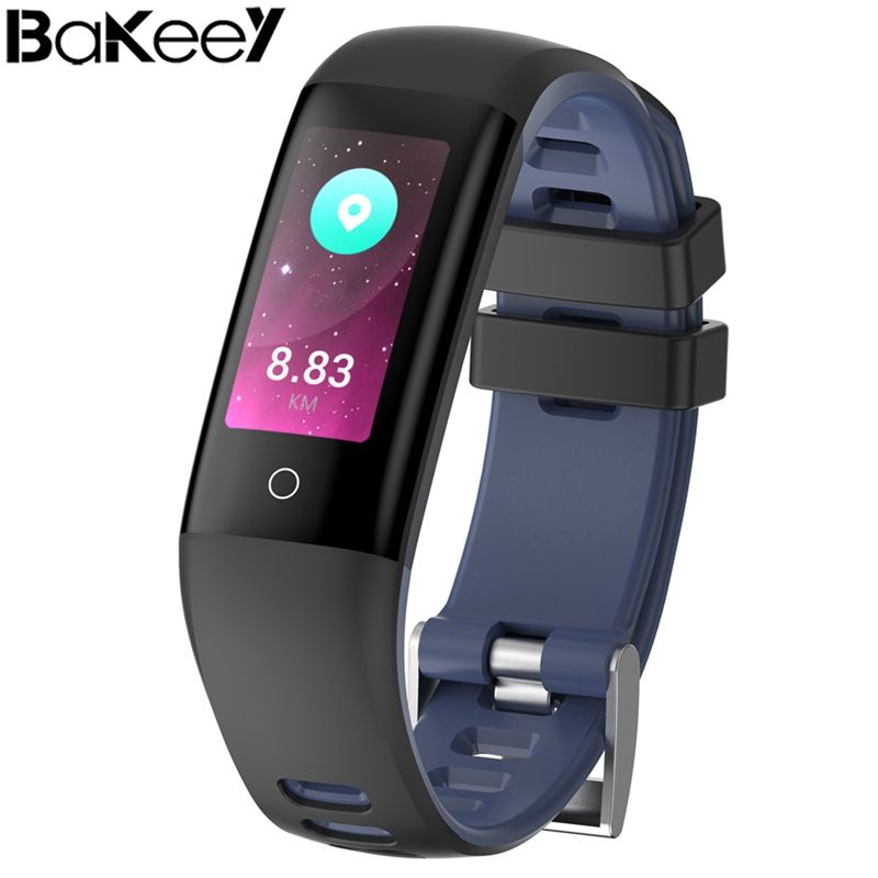 Hottest !Bakeey G16 0.96 inch Color Screen Blood Pressure Heart Rate Monitor Smart Watch for iOS Android support Exercise Plan