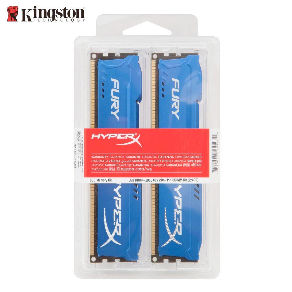 Kingston Desktop memory 8GB (2*4GB) 16GB (2*8GB) HyperX FURY DDR3 1866 MHz PC3 14900 Desktop PC Gaming Memory RAM