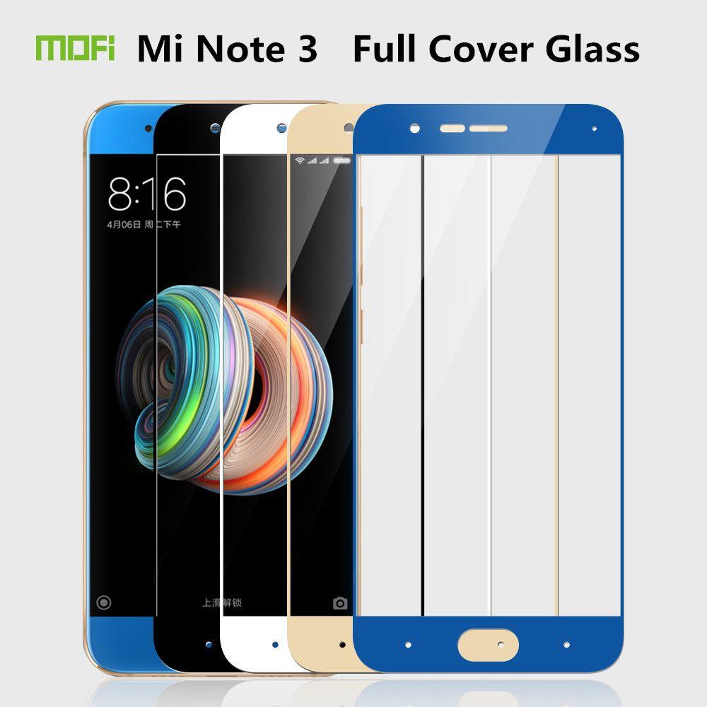 Pour Xiaomi Mi Note 3 En Verre Trempé 5.5 pouce MOFi De Protection Film Mi Note3 Protecteur D'écran Xiaomi Mi Note 3 En Verre Trempé Film