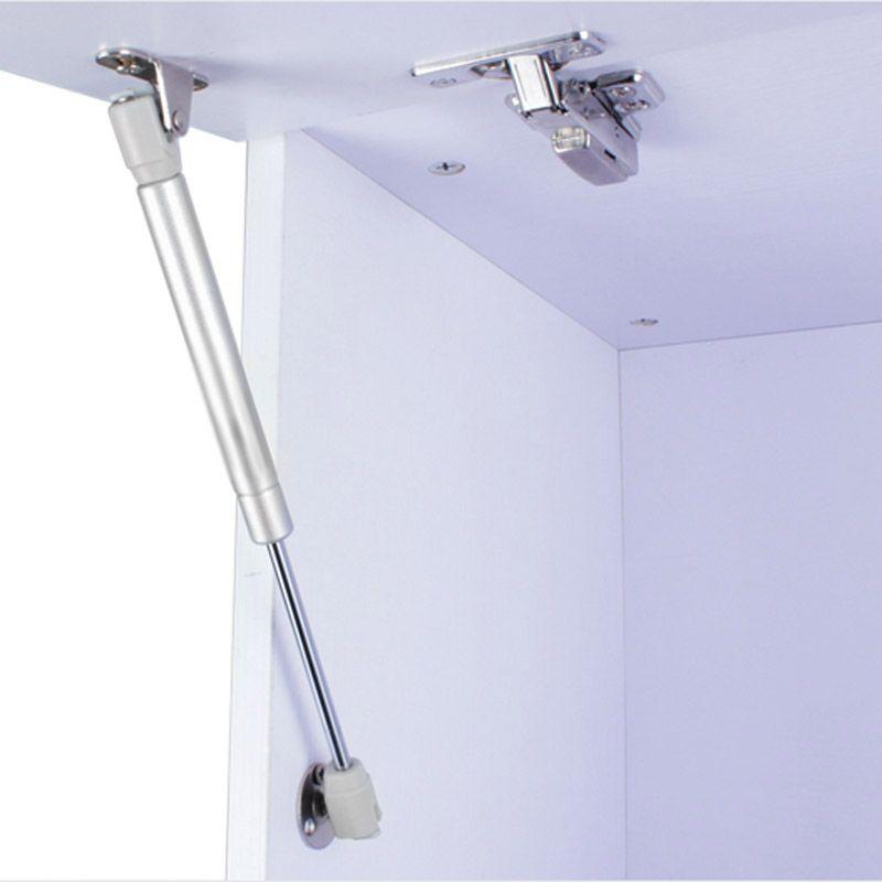 4 stücke 100N/10 kg Tür Heben Unterstützung Gas Hydraulischen Federscharnier Schranktür Küche Schrank Scharniere Möbel Hardware