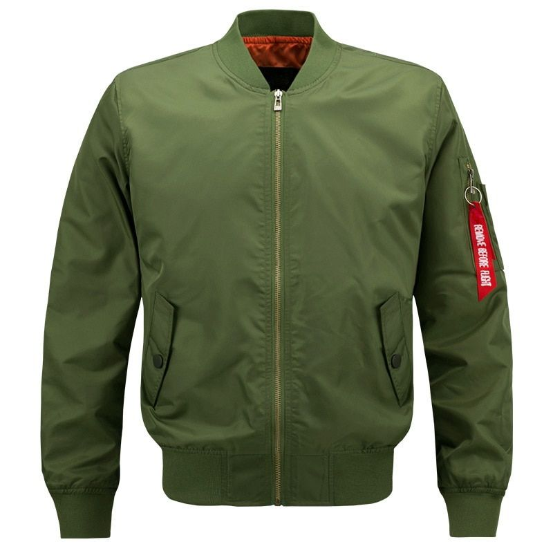 2018 Spring Autumn Brand US Air Force Solid Casual Bomber Jacket Men Varsity College Baseball Plus Size S-4XL 5XL 6XL 7XL 8XL