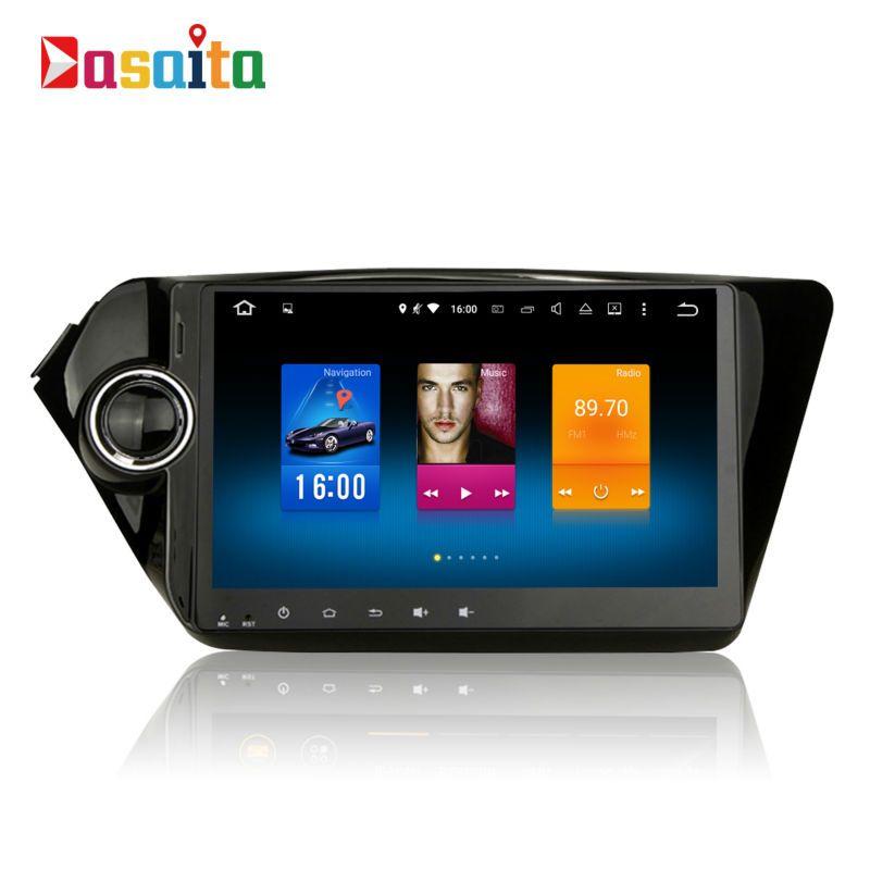 Car 2 din Android GPS Navi for Kia Rio / K2 autoradio navigation head unit multimedia Player 4Gb+32Gb Android 8.0 PX5 Octa-core