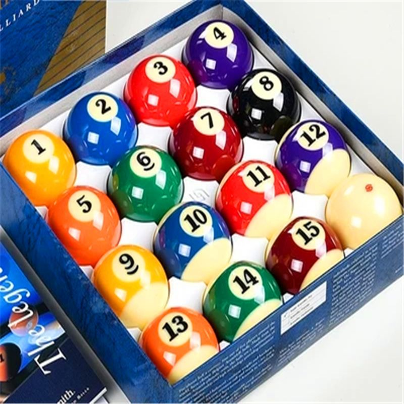 Billiard Balls Set Us Billiards 16piece/set Standard 5.25cm/5.72cm Practice Game Ball Good Quality Durable Crash Anti-colli