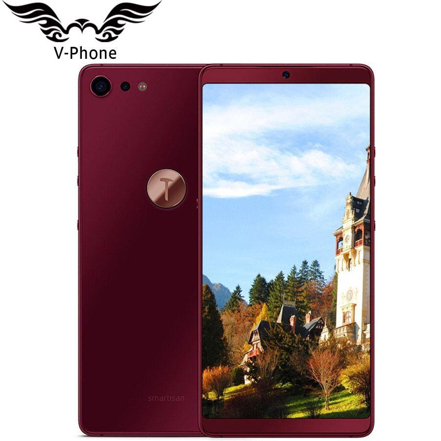 Neue Smartisan U3 pro Mutter Pro 2 4 gb 32 gb 5,99 ''2160x1080 Volle Bildschirm Snapdragon 660 octa Core gesicht ID Fingerprint handy