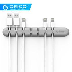 ORICO CBS Kabel Wickler Kopfhörer Kabel Veranstalter Draht Lagerung Silicon Ladegerät Kabel Halter Clips für MP3, MP4, maus, Kopfhörer