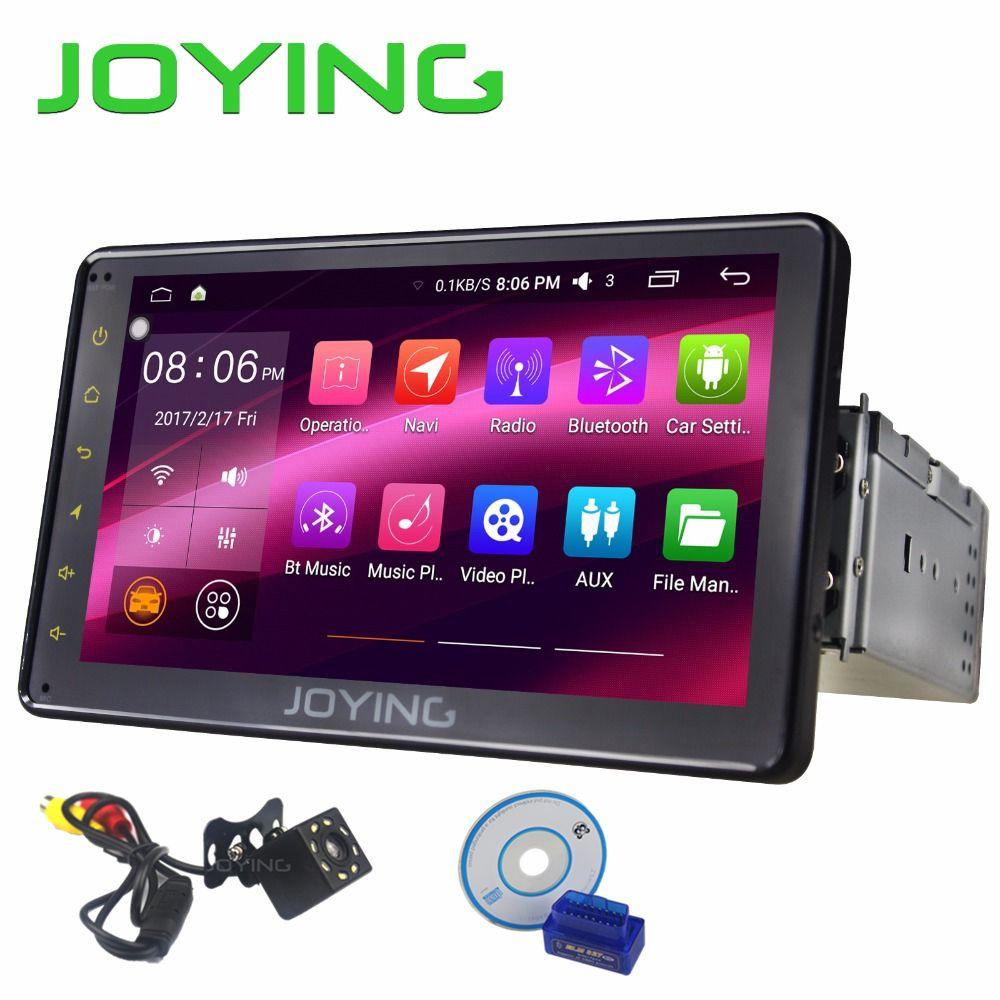 JOYING Android 6.0 Car Radio screen system Single 1 DIN 7 Universal Stereo <font><b>Quad</b></font> Core Car Head Unit support 3G/4G/WIFI/OBD/SWC