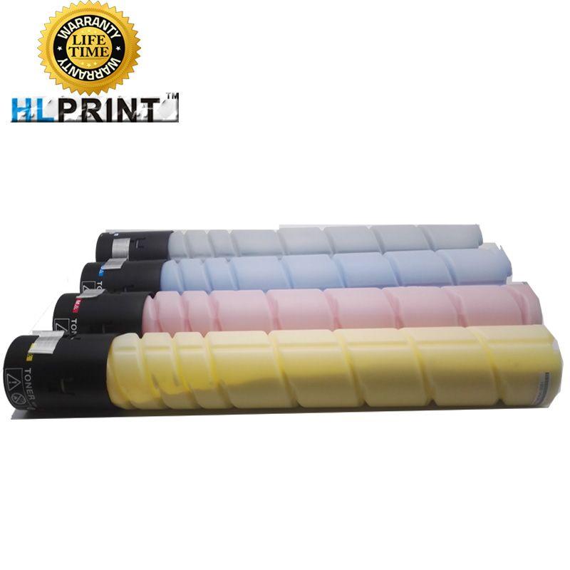 TN321 toner cartridge kit compatible for konica minolta bizhub C224 C284 C364 C7822 C7828 Copier printer 1pcs/lot