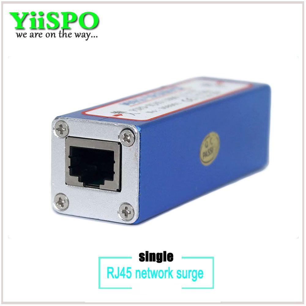 YiiSPO Réseau RJ45 Parasurtenseur Tonnerre, puissance surger protection, Parafoudre pour 100Mbs Ethernet/IP caméra