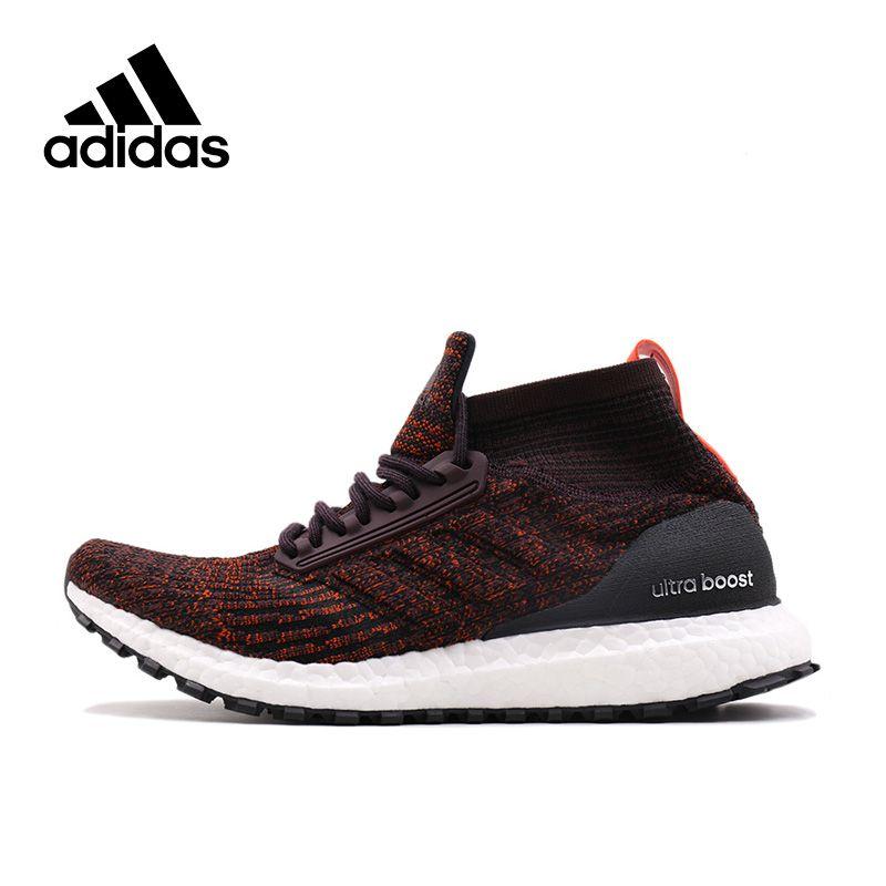 Adidas Новое поступление Аутентичные Ultra Boost ATR MID Для мужчин дышащие Кроссовки спортивные Спортивная обувь s82035 s82036