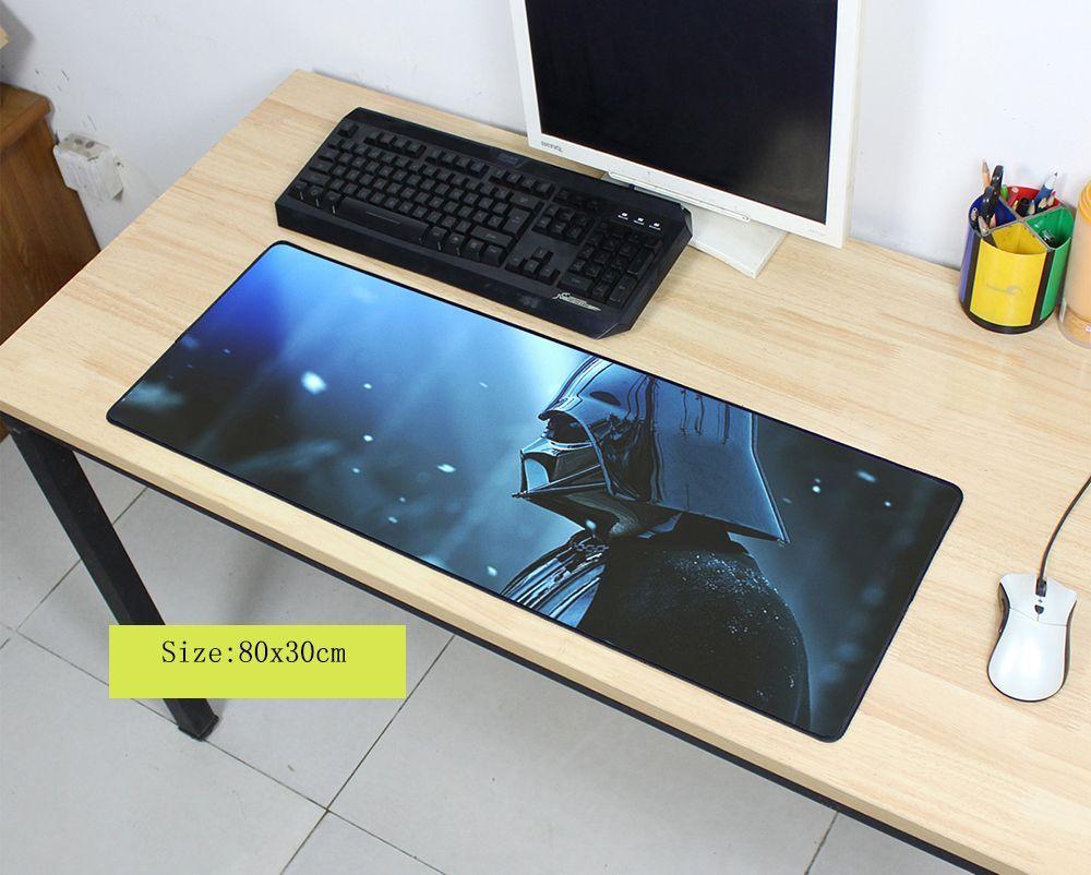 Star wars tapis de souris tapis De souris de Mode ordinateur portable padmouse cahier ordinateur 800x300x2mm tapis de souris de jeu HD modèle gamer jouer tapis