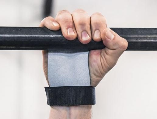 2 fingers WOD grip / Pull up glove / Barbell grip / CROSSFIT GRIP / PALM PROTECTOR / gym grip / hand guard / toes-to-bar