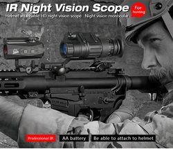 Canis Latrans Berburu PVS-14 Malam Visi Lingkup Bermata Perangkat Night Vision Kacamata Digital Pencahayaan IR GZ27-0008