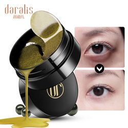Black Pearl Golden Collagen Eye Mask 60pcs Gel Patches Wrinkle Eyes Bags Remover Dark Circles Young for Face Skin Care Pads