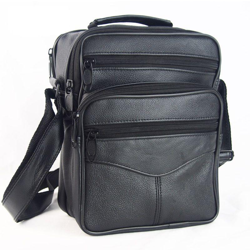 Offre spéciale mode Designer hommes épaule sacoche sacs en cuir véritable bandoulière sacs à main sacs pour hommes Messenger sac d'affaires Bolsa