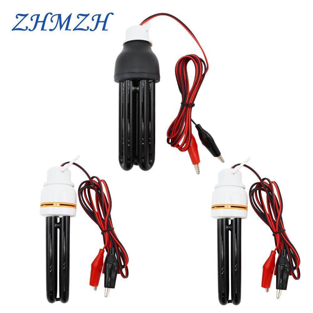 DC12V 15 W 20 W 40 W économie d'énergie lumière noire CFL UV lumières d'élevage piège lampe ampoule basse tension lampes ultraviolets piège à lumière BLB