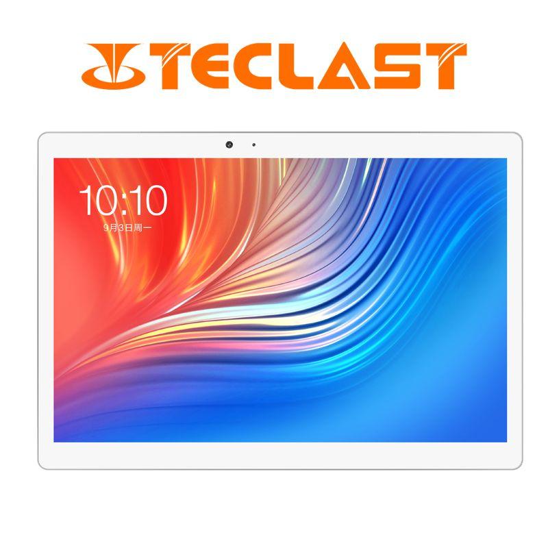 10,1 zoll 2560*1600 Teclast T20 Tablet PC 4G anruf MT6797 Helio X27 Deca Core Android 7.0 4 GB RAM 64 GB ROM 8100 mah 13MP