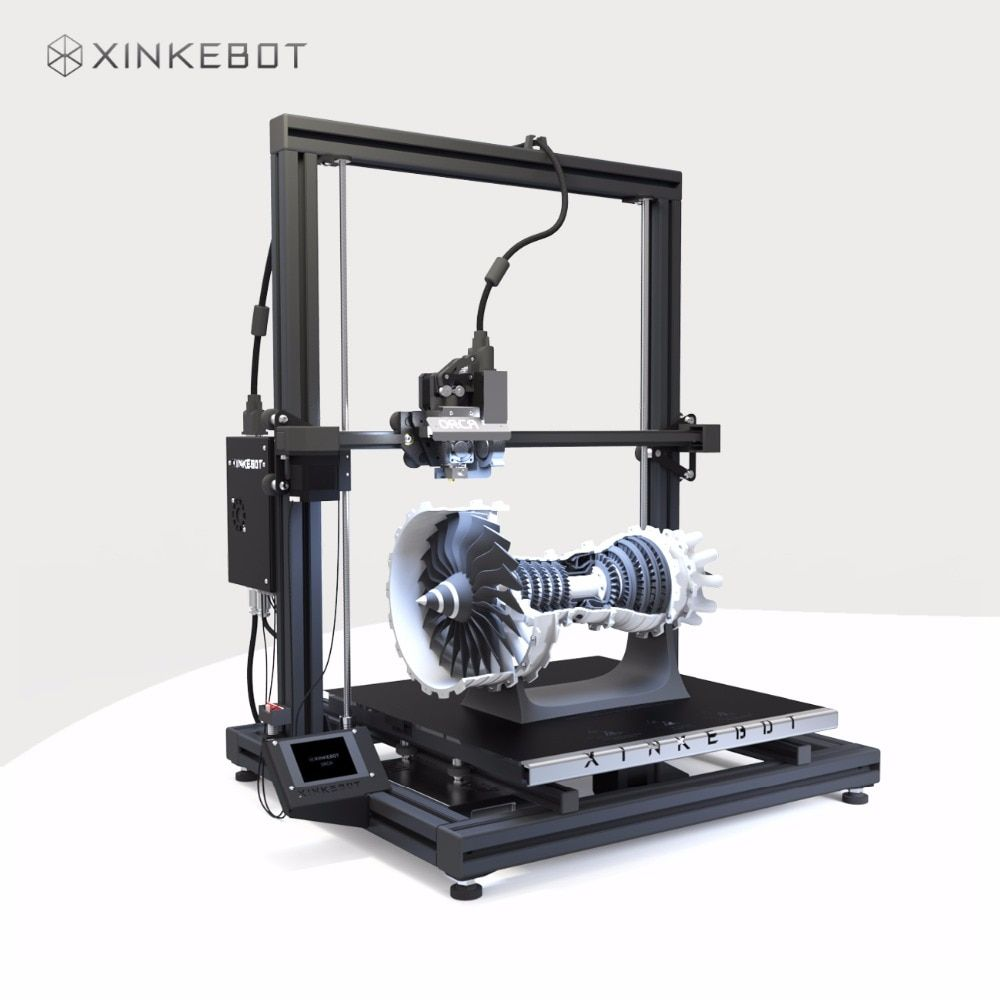 XINKEBOT Big Size Orca2 Cygnus Dual Extruder Large 3D Printer with Auto Leveling Heated Bed Fast Shipping