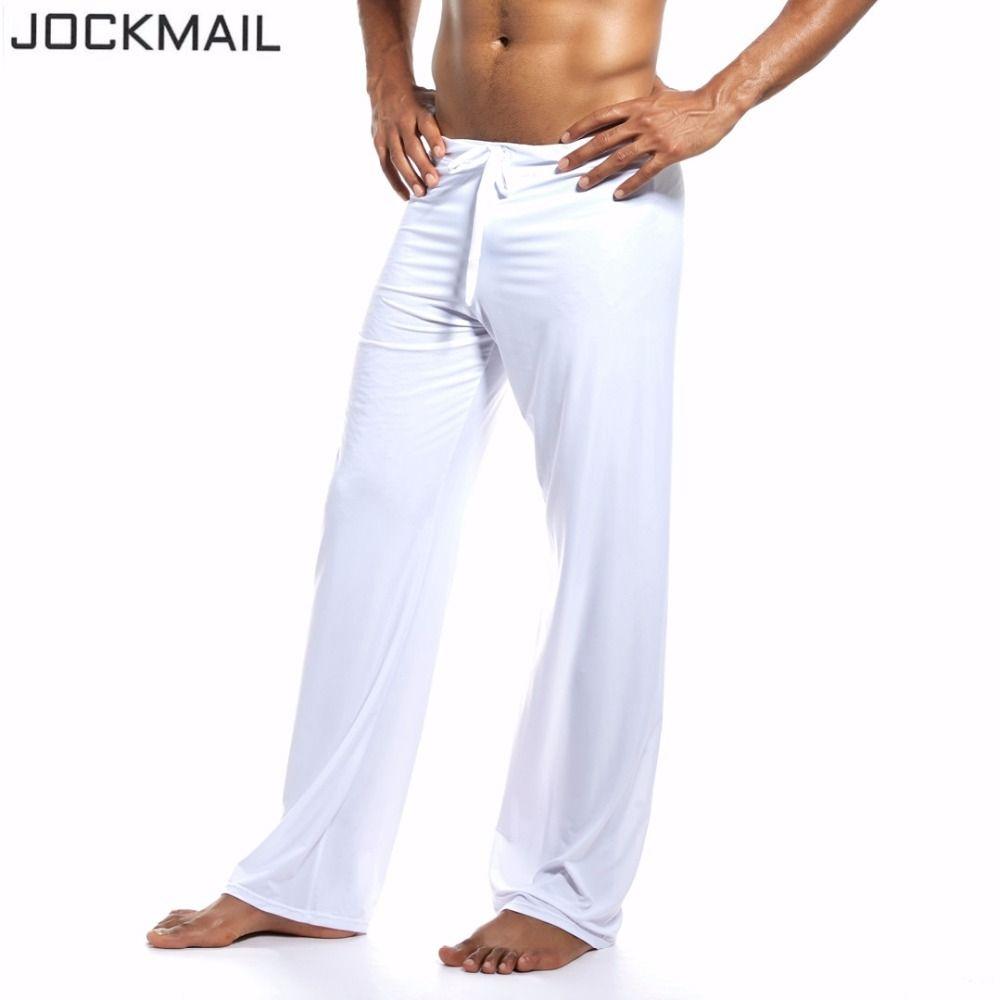Jockmail марка спортивной фитнес-человек штаны для йоги вертикальной гладкой тренажерный зал спортивной одежды для фитнес бег бодибилдинг оде...