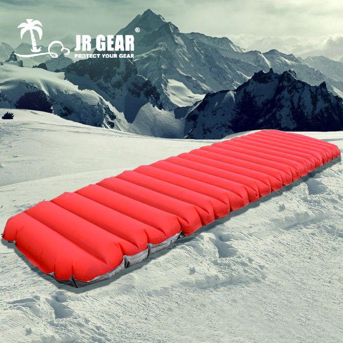 2017 New Outdoor PrimaLoft Ultralight Air Moistureproof Inflatable With TPU Film Camping Air Tube Bed Mat Mattress