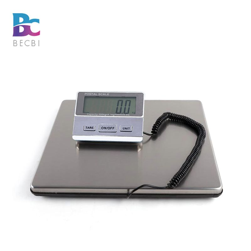 BECBI 440LB/200KG Smart Weigh Digital Heavy Duty Shipping Postal Weight Scale,UPS USPS Post Office Postal Scale Luggage Scale