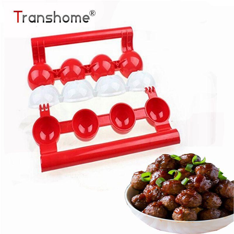 Transhome 1 Stücke Neuling Fleischbällchen Maker Gefüllte Pattie Fleischbällchen Fischbällchen Maker Hausgemachte Form DIY Fleisch Geflügel Werkzeuge