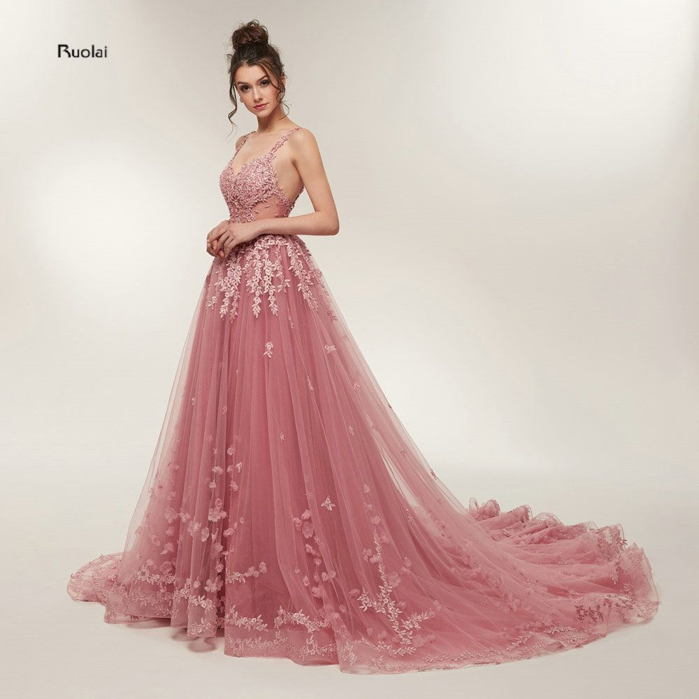 Prom Dresses Long 2018 Party Dresses vestidos de prom Open Back Evening Dresses Prom Party Dress vestido de noiva Real Sample