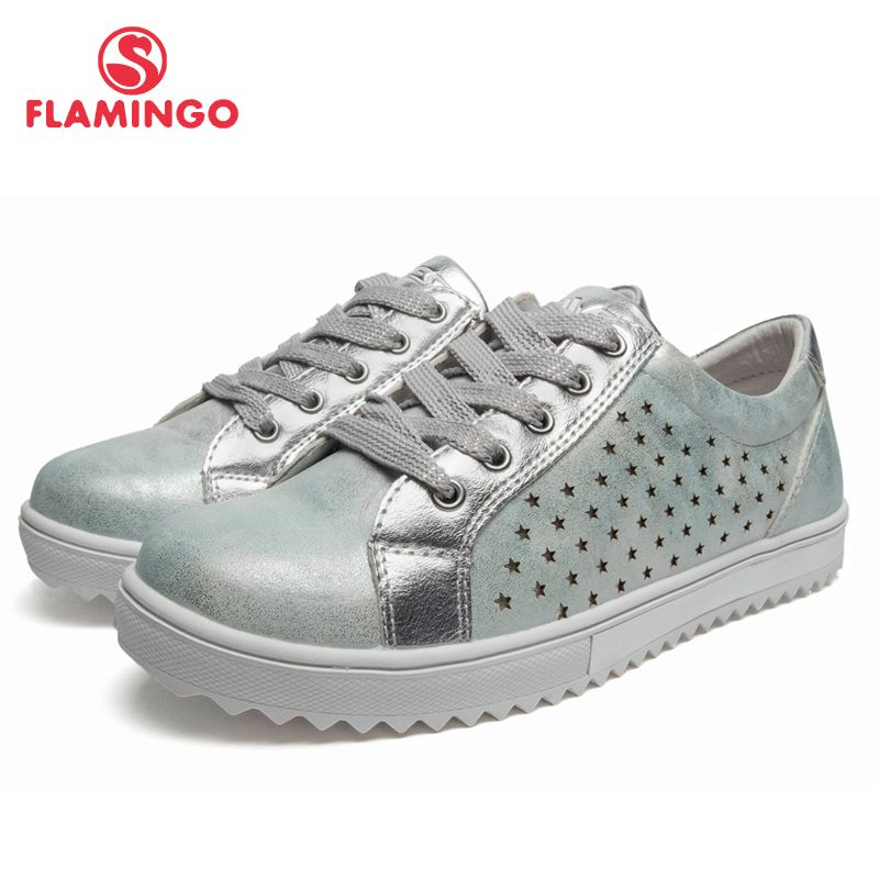 QWEST Marke Frühling & Sommer Atmungsaktive Kinder Wanderschuhe Haken & Loop Größe 31-36 Kinder Sneaker für Mädchen 91P-AH-1133