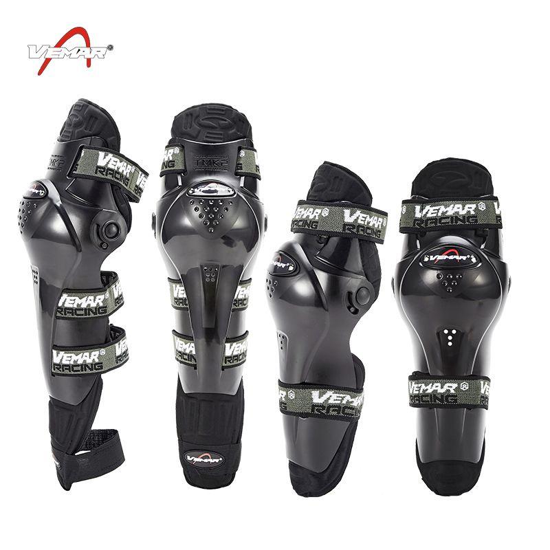 High Quality Motorcycle Protective kneepad  Knee and Elbow Protector Moto Racing Guards Motocross Black motocicleta