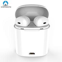 I7 TWS Écouteurs Ture Sans Fil Bluetooth Écouteurs Doubles Jumeaux Écouteurs stéréo Musique Casque Pour Apple iPhone X 8 8 Plus Huawei