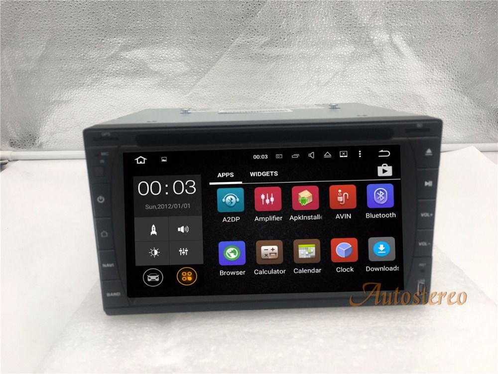 Quad Core Android 7.1 Car Radio auto DVD CD Player GPS Navigation Multimedia For Nissan For Toyota Most of 2DIN 173*98 size Unit