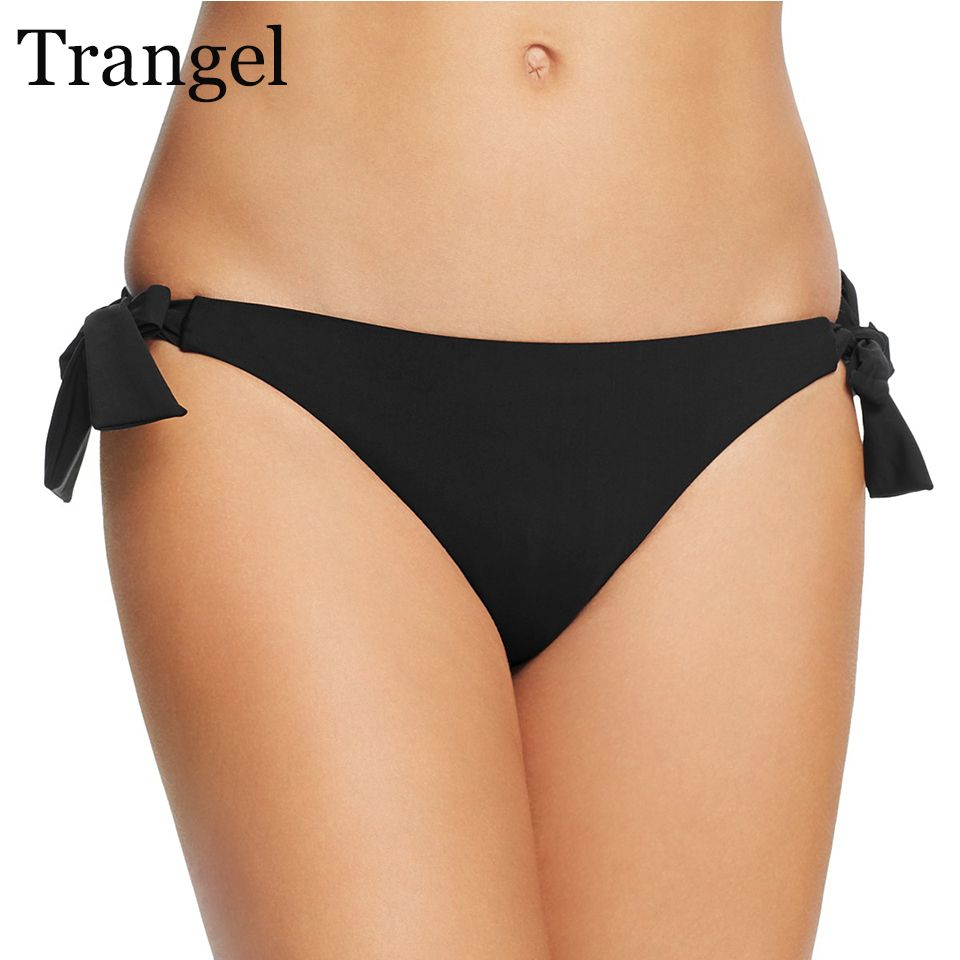 Trangel sexy women swimwear briefs female cheeky bikini bottoms thong swimsuit panties two piece separates brazilian underwear