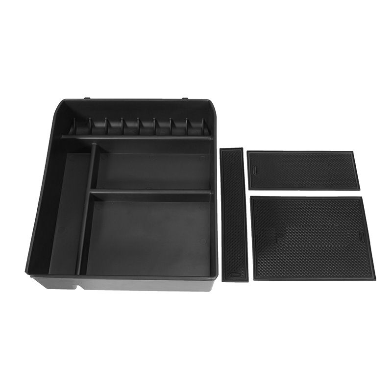 Car Central Armrest Box Storage Glove Stowing Boxes Container for Toyota Land Cruiser Prado without Refrigerator 2004-2009