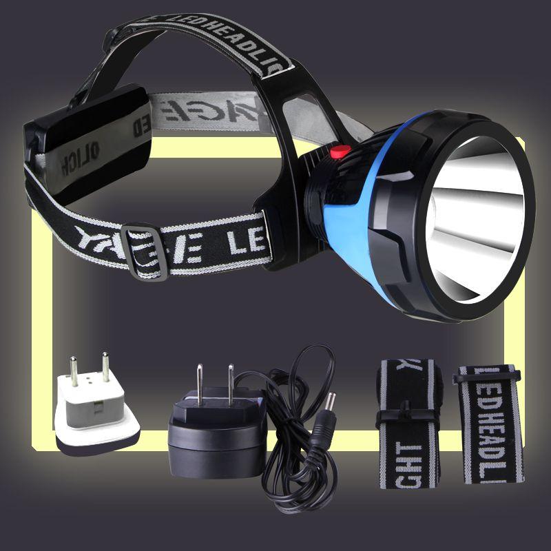 Lampe frontale Rechargeable YAGE lampe frontale sur votre front lampe de poche phare avant LED