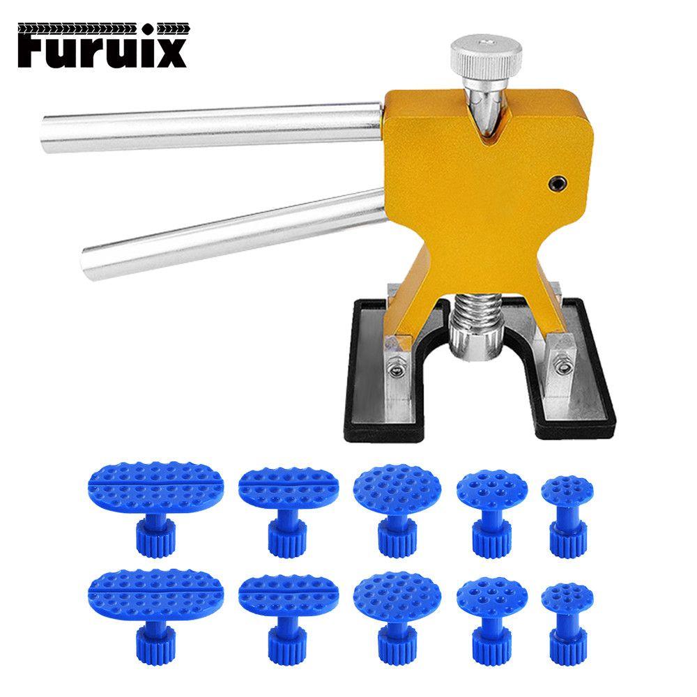 Furuix PDR Tools Paintless Dent Repair Tools Dent Removal Dent Puller Tabs Dent Lifter Hand Tool Set Toolkit Ferramentas