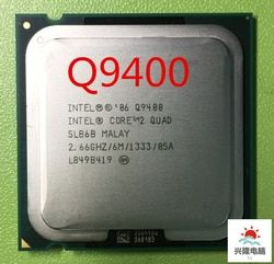 Intel Core 2 Quad Q9400  q9400  CPU Processor (2.66Ghz/ 6M /1333GHz) Socket 775 Desktop CPU