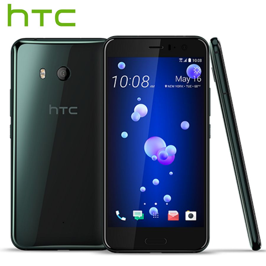 Original HTC U11 Snapdragon 835 Octa Core IP67 Waterproof 4GB RAM 64GB ROM 5.5 inch 2560x1440p 16MP 3000mAh 4G LTE Mobile Phone