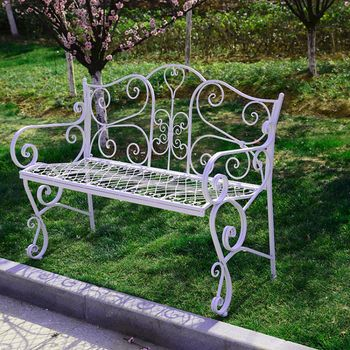 European Style Double Chairs Leisure Lounge Chairs Wedding Photo Studio Chairs Outdoor Chairs Long Chairs
