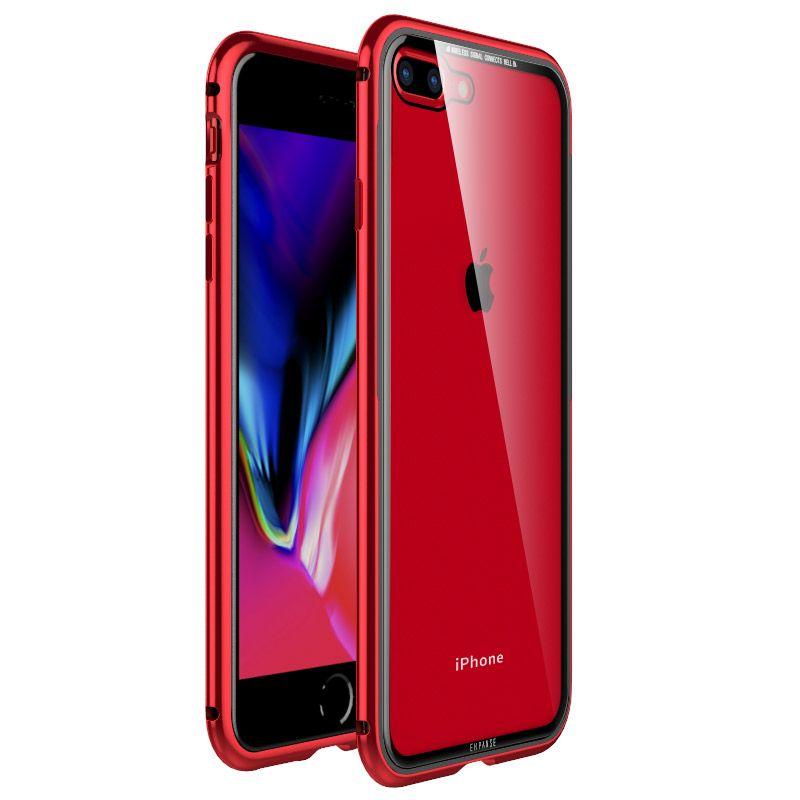 Pare-chocs en métal pour iPhone XS Max Étui Rigide Transparent TPU Cadre En Aluminium de Luxe Couverture de Téléphone pour iPhone XR 8 7Plus Étui Accessoires