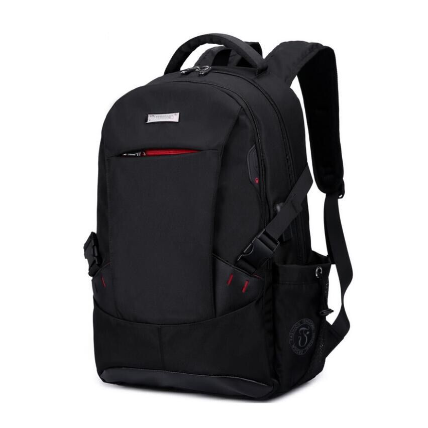 high quality school bags for boys school backpack men travel bags schoolbag shoulder bags for kids bagback black laptop bag 15.6