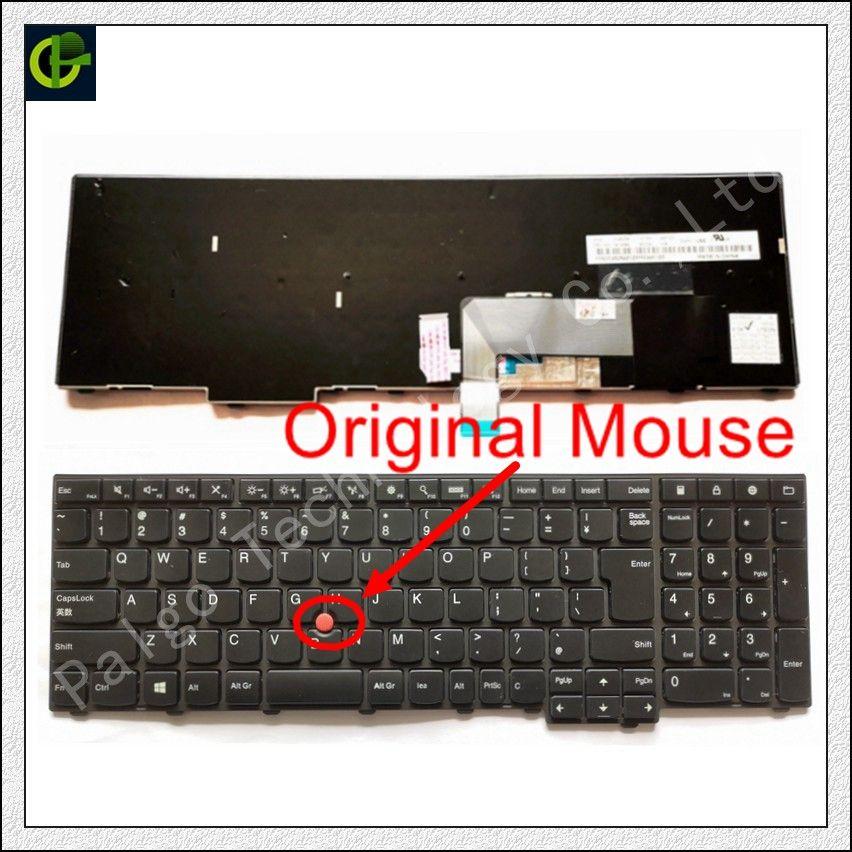 Nouveau Original Anglais Clavier pour Lenovo ThinkPad W540 W541 W550s T540 T540p T550 L540 Bord E531 E540 0C44592 0C44913 0C44944 NOUS
