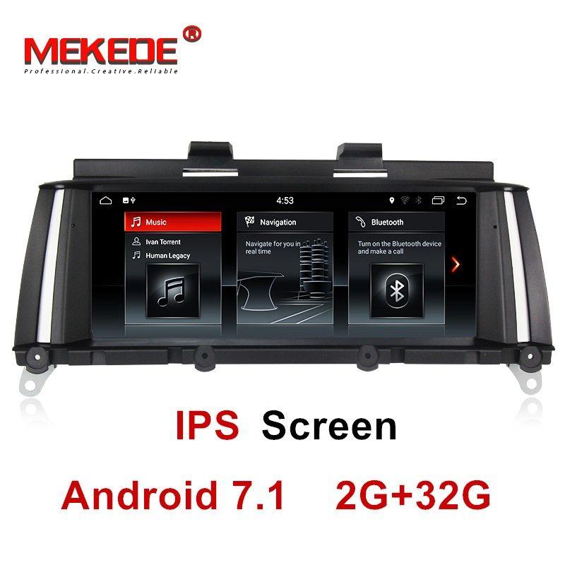 IPS screen 2GB+32GB android 7.1 Car DVD Multimedia player for BMW X3 F25 2010-2013 Original CIC/NBT System gps navigation radio