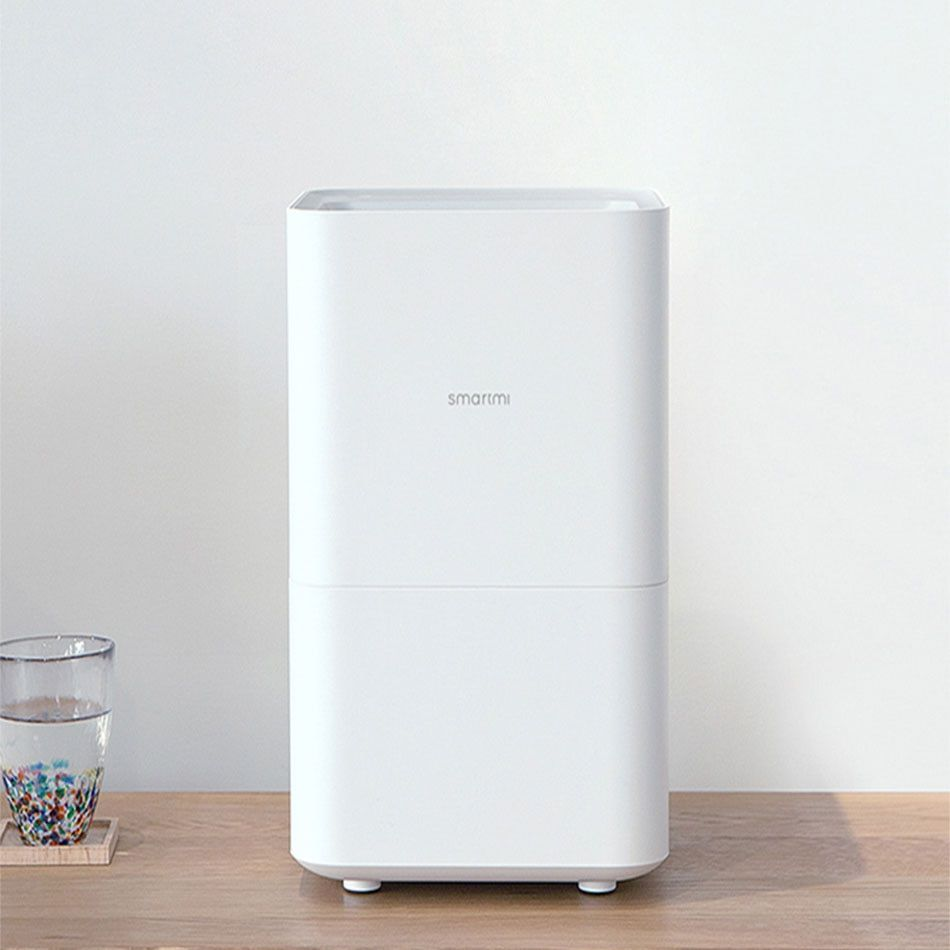 Smartmi Air Humidifier Smog-free Mist-free Pure Evaporate Type Increase Natural Air Humidity Xiaomi Mute Humidifier App Control