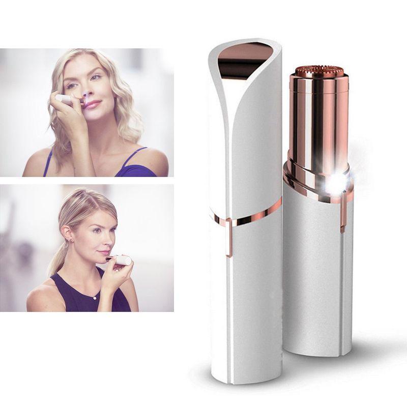 Elektro Frauen Lippenstift Rasierer Wachs Abschluss Flawless Haarentferner Trimmer Rasieren Maschine Lippenstift Rasieren Werkzeuge